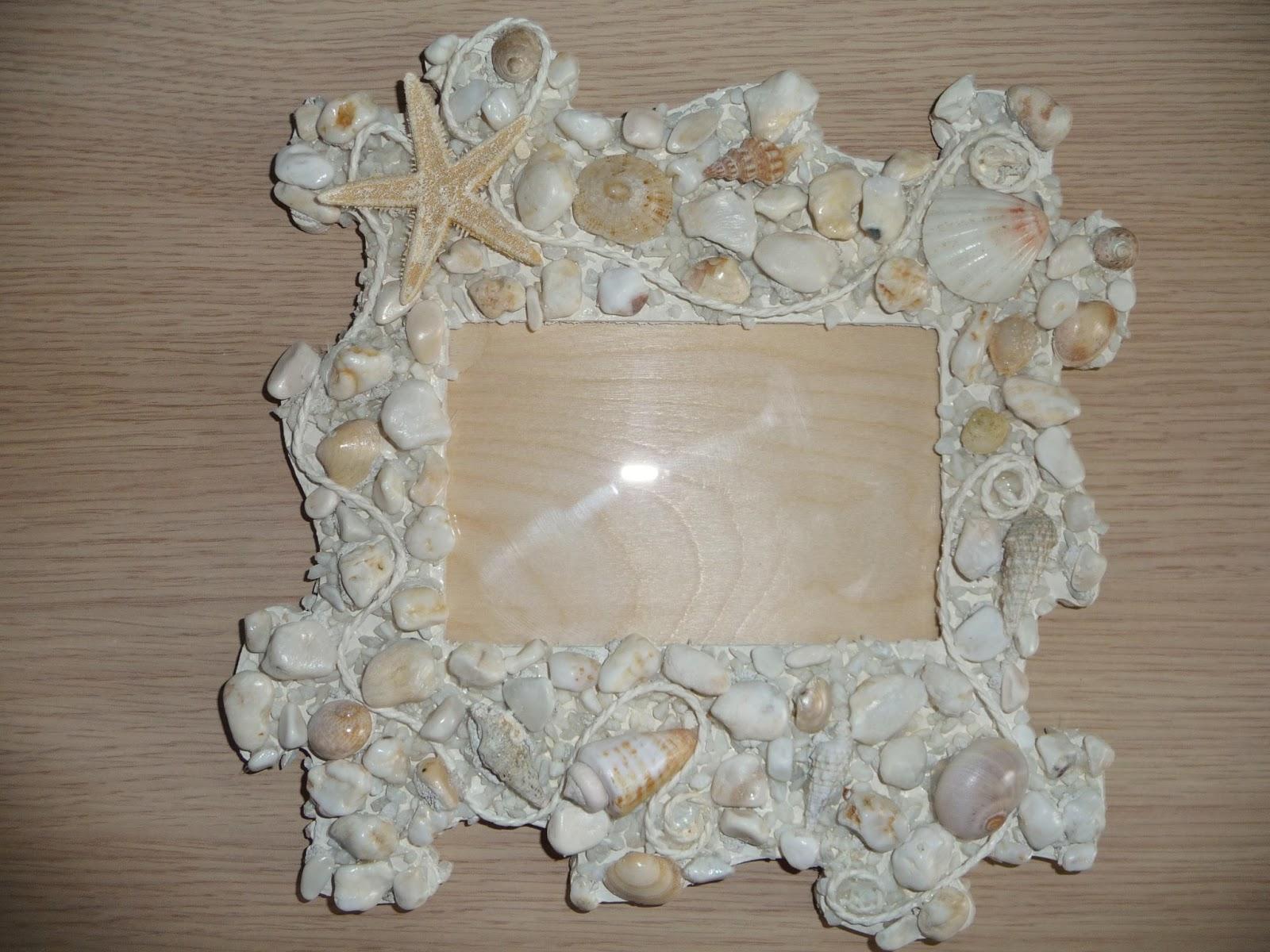 Anes cornici e oggettistica della serie gocce di mare - Specchio con conchiglie ...