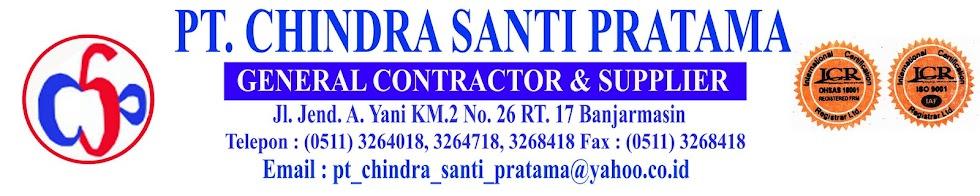 Selamat Datang di PT.Chindra Santi Pratama