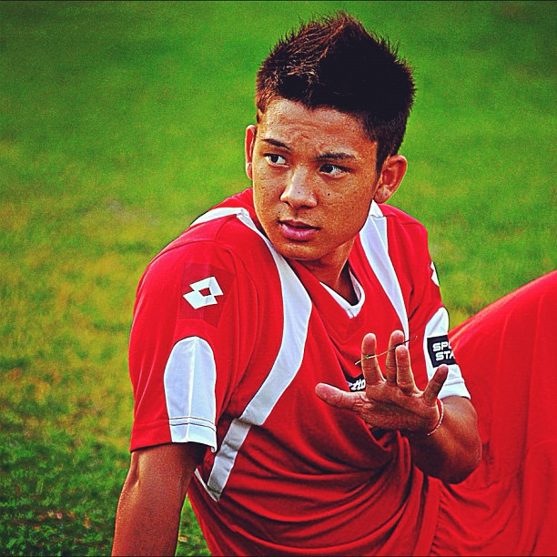Picture About Indonesian Young Football Player KIM JEFFREY KURNIAWAN.