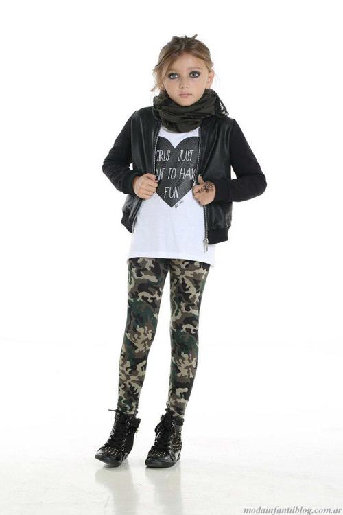 Ona Saez Kids calzas nenas invierno 2013