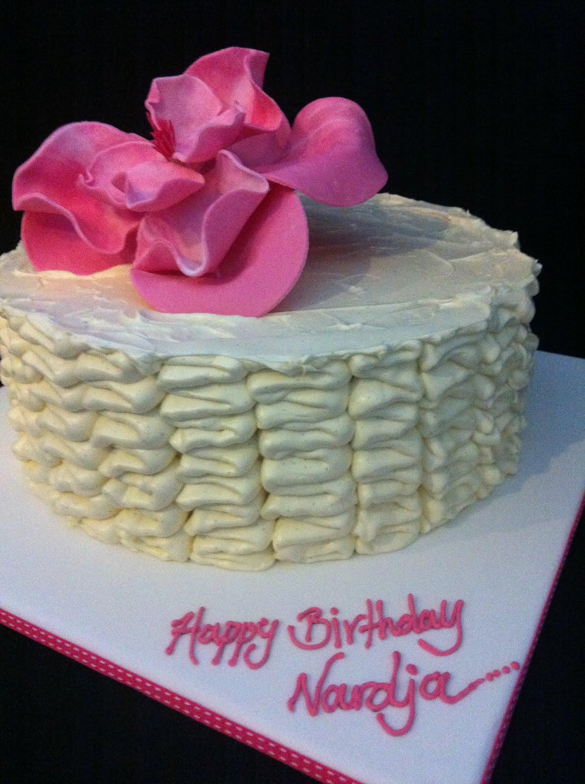 The Cupcake Stand Ribbon Cake