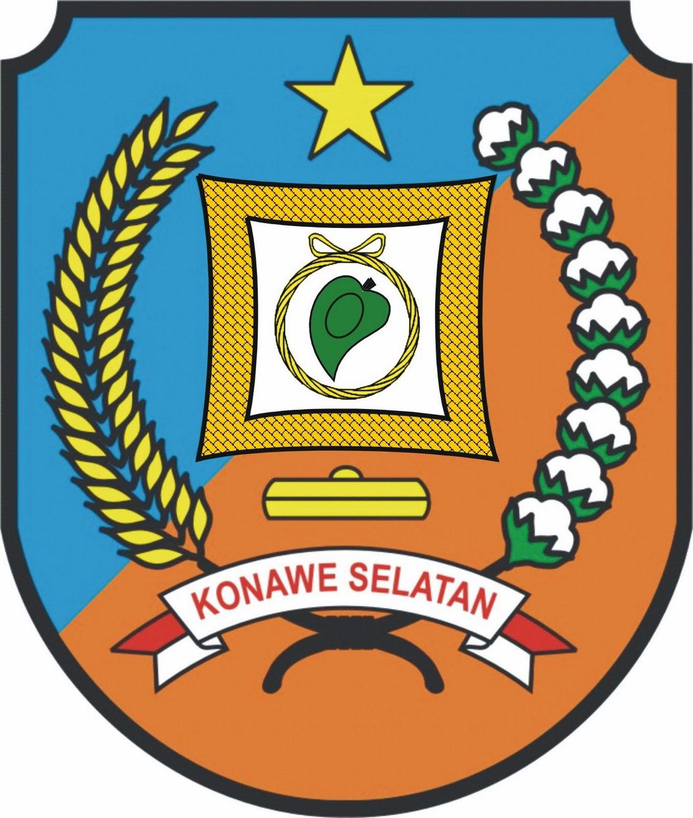 Logo Kabupaten Kota Logo Kabupaten Konawe Selatan Sulawesi Tenggara