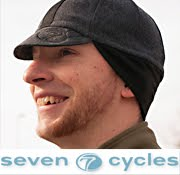 Our latest Custom Cycling Caps for Seven Cycles!