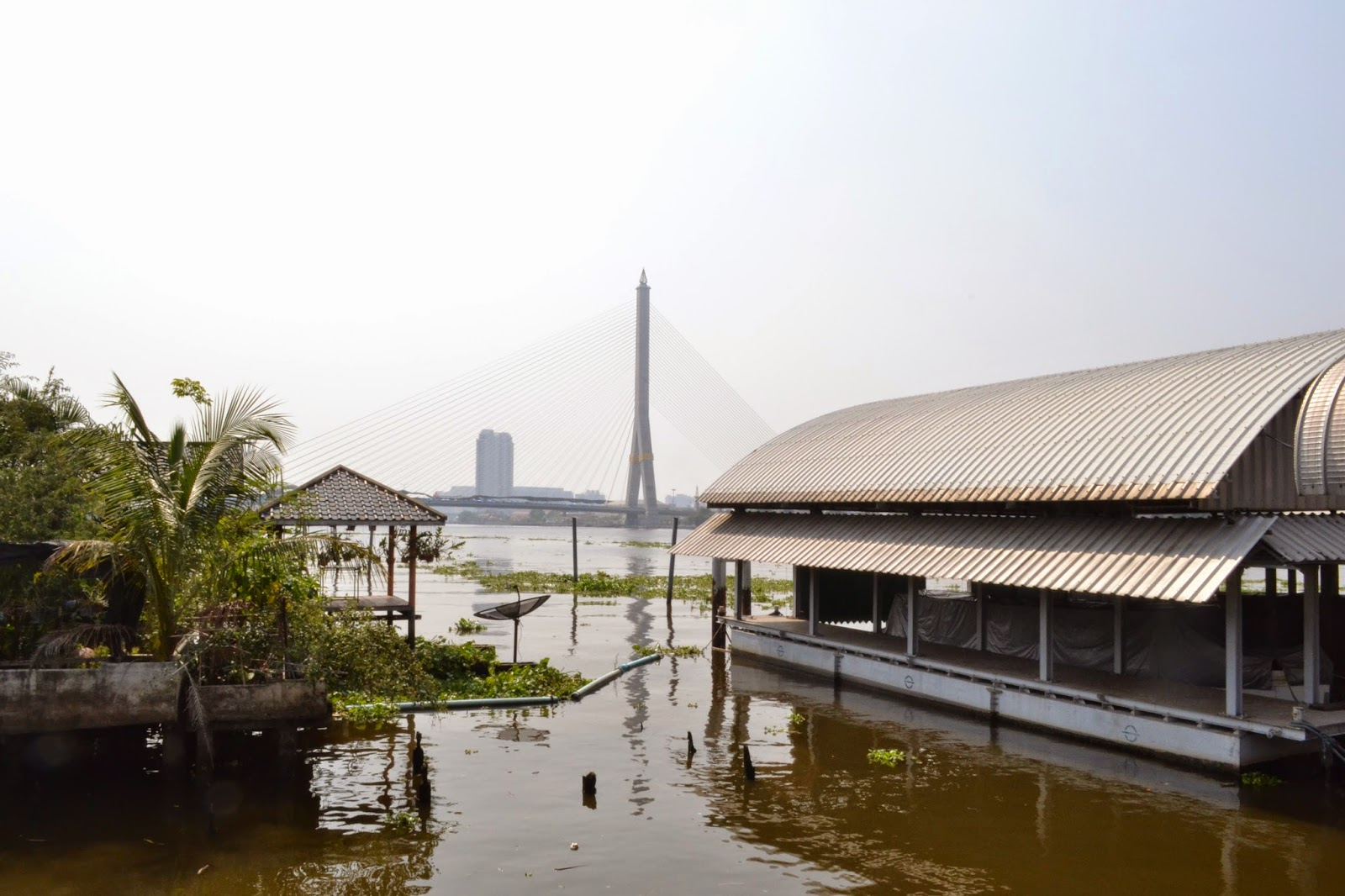 Chao Phraya, Bangkok, Thailande, Fleuve, voyage
