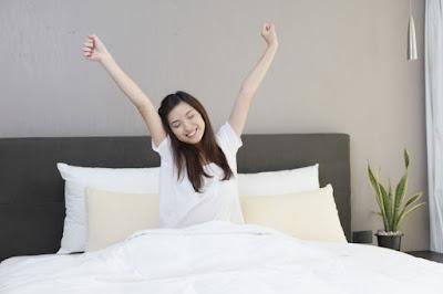 Tidurlah tepat waktu setiap harinya