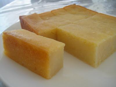 Saucy Thyme: Vietnamese Baked Cassava Coconut Cake
