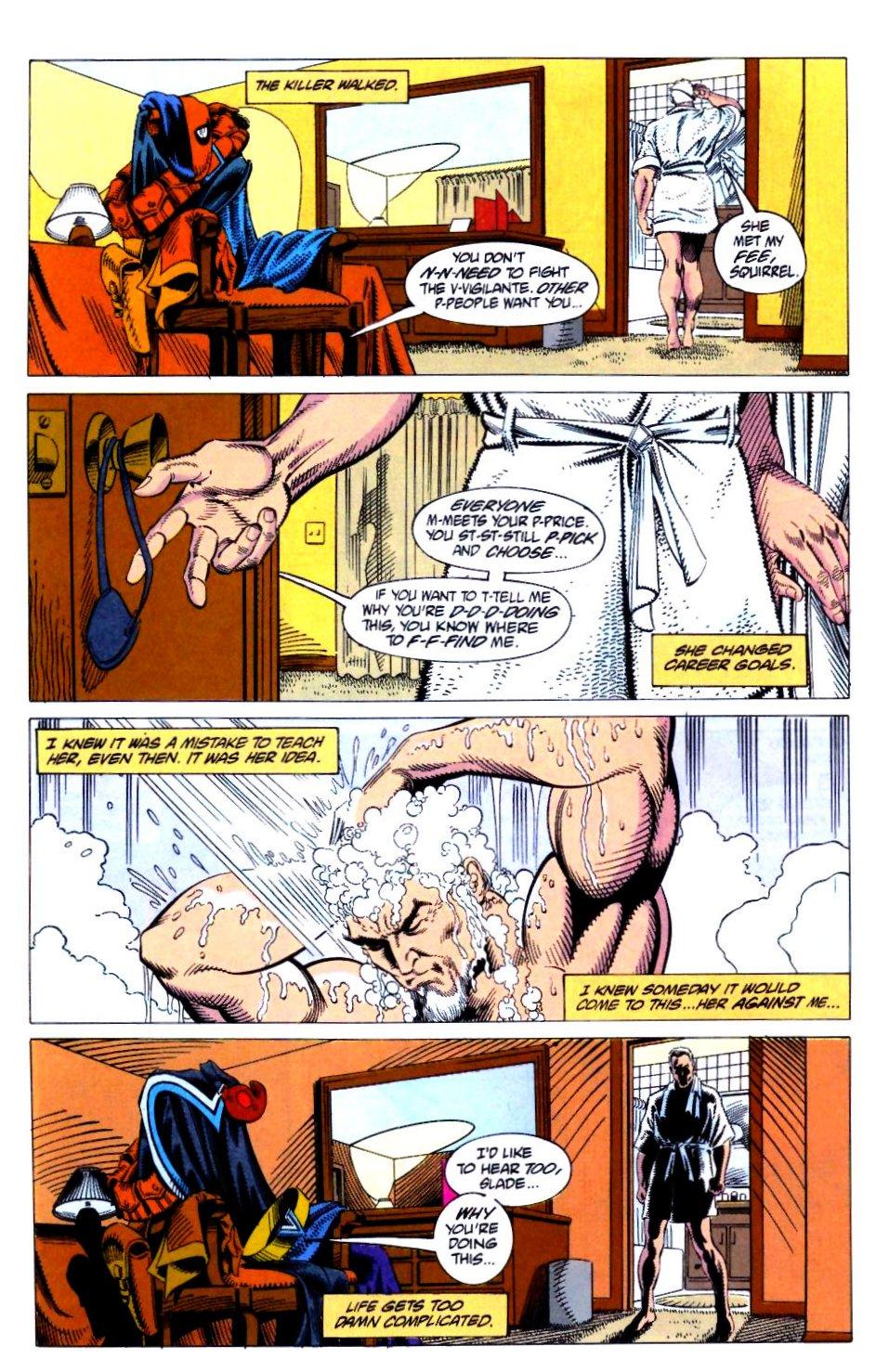 Deathstroke (1991) Issue #21 #26 - English 12