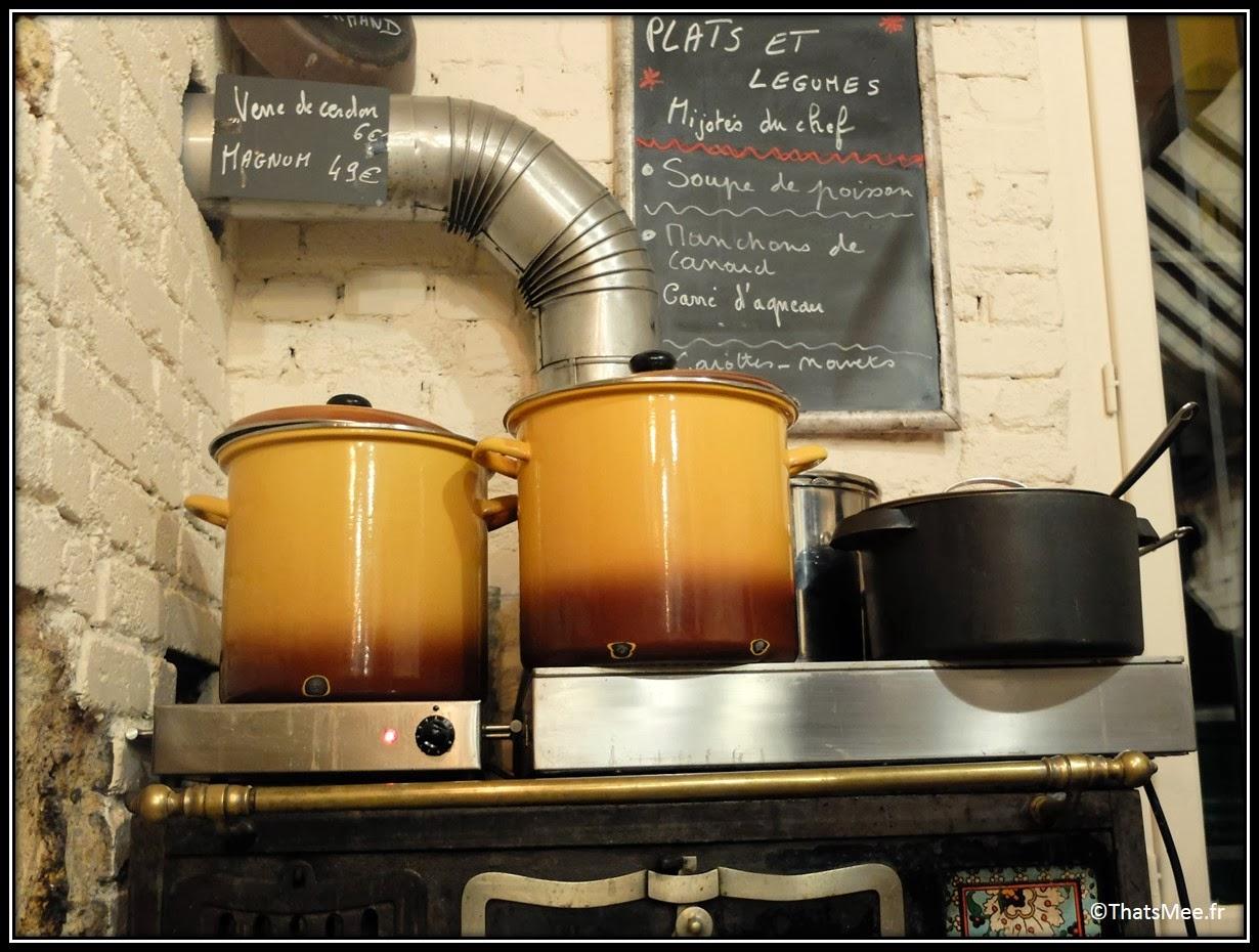 resto rustique table d'hôte Paris 15eme Cave de l'os à Moelle gastronomie bistro plat traditionnel français restaurant