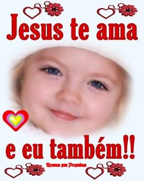 Mensagens para Facebook de Jesus te Ama e Imagens Evangelicas