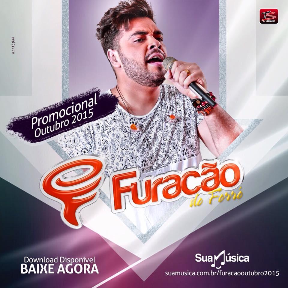 [CD] Furacão do Forró - Promocional Outubro 2015