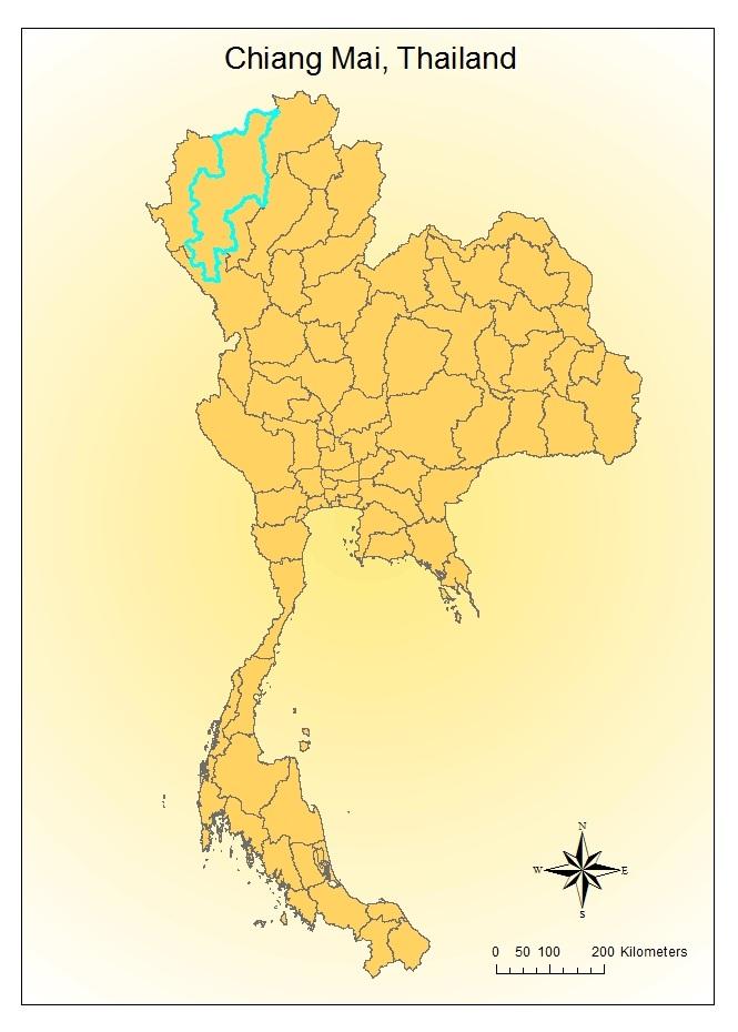 SlashandBurn Agriculture in Chiang Mai Thailand