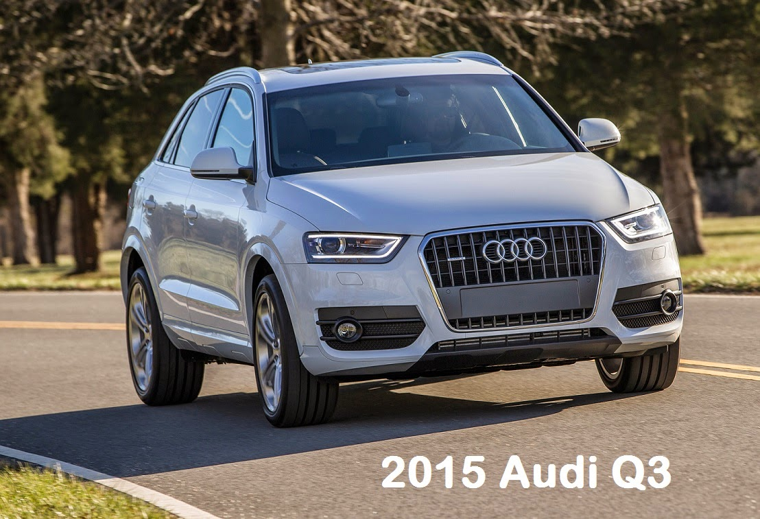 2015 Audi Q3 video test drive and review
