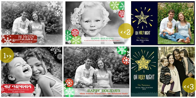 holiday photo cards inspired by shutterfly created in picmonkey