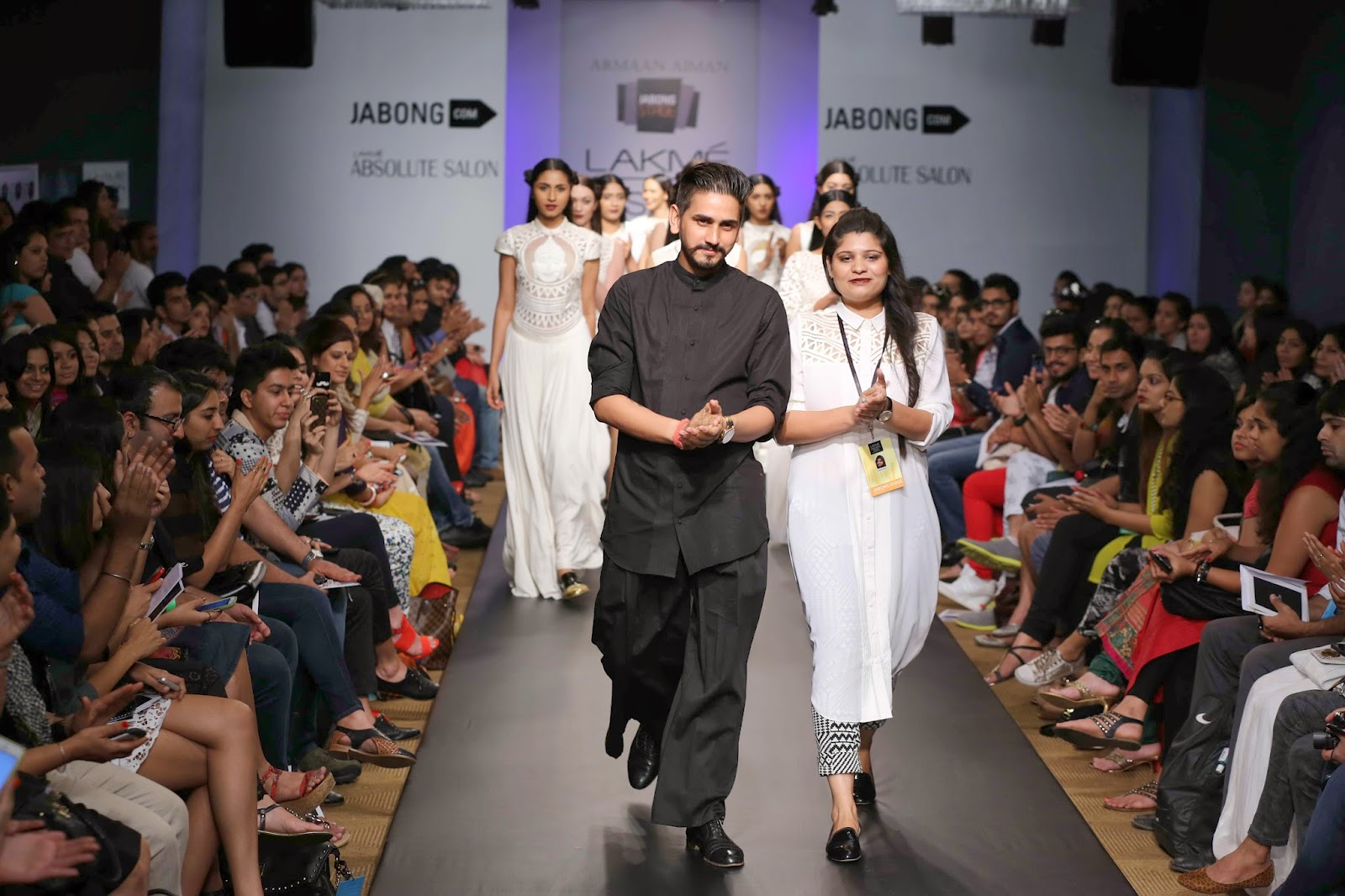 Calm and charming, Aiman Agha and Armaan Randhawa's label 'ARMAAN AIMAN' is perfect for those fashionistas who like to wear not just their heart, but also their mind on their sleeve.