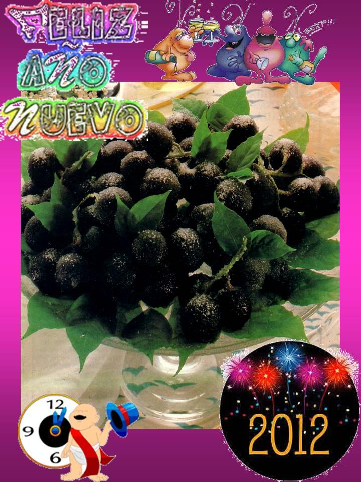 Pa mojar pan postres uvas escarchadas especial navidad - Postre especial navidad ...