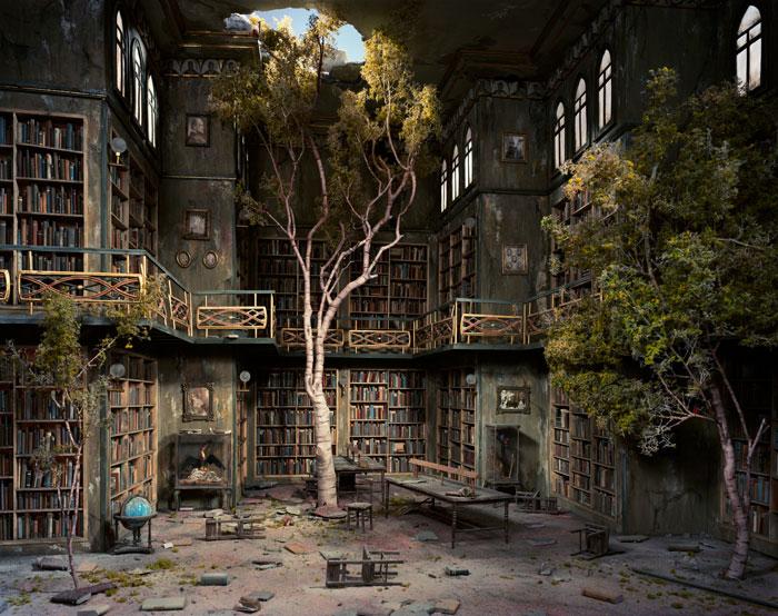 apocalipsis en biblioteca