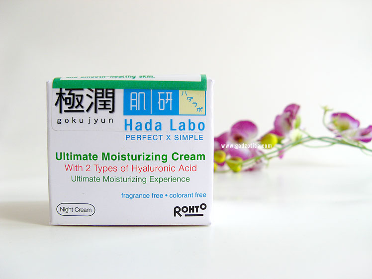 Hada Labo Ultimate Moisturizing Night Cream Review