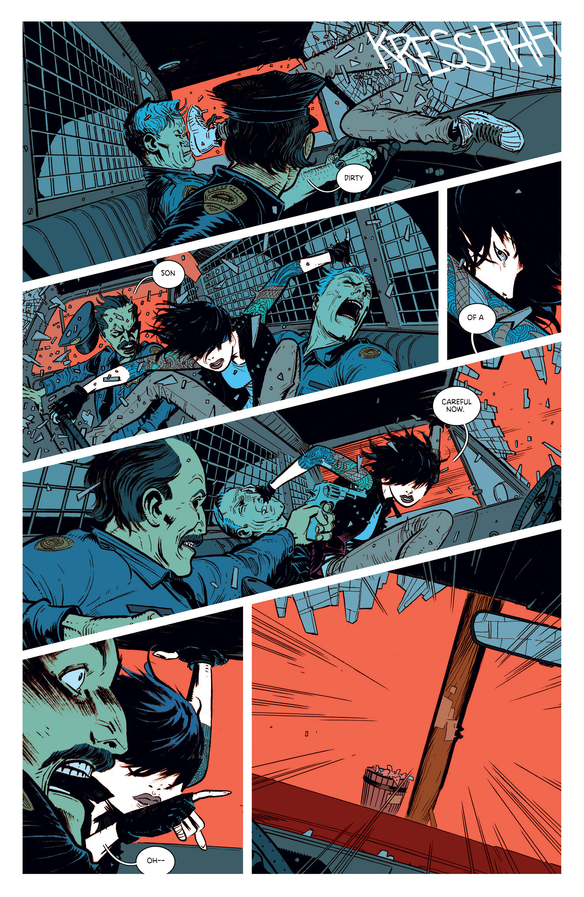 Read online Deadly Class comic -  Issue #1 - 19