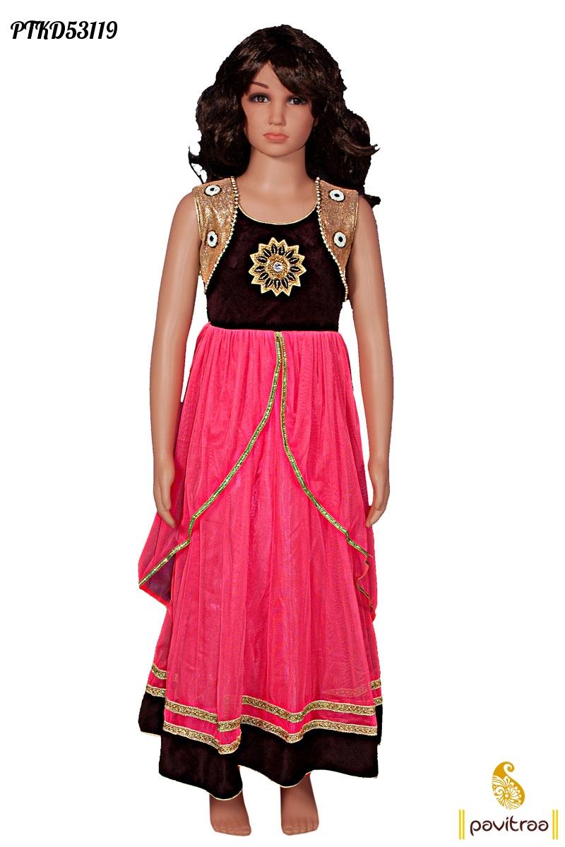 Kids Wear Baby Girls Indian Designer Dresses And Salwar ...