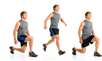 jump lunges for baseball strength training