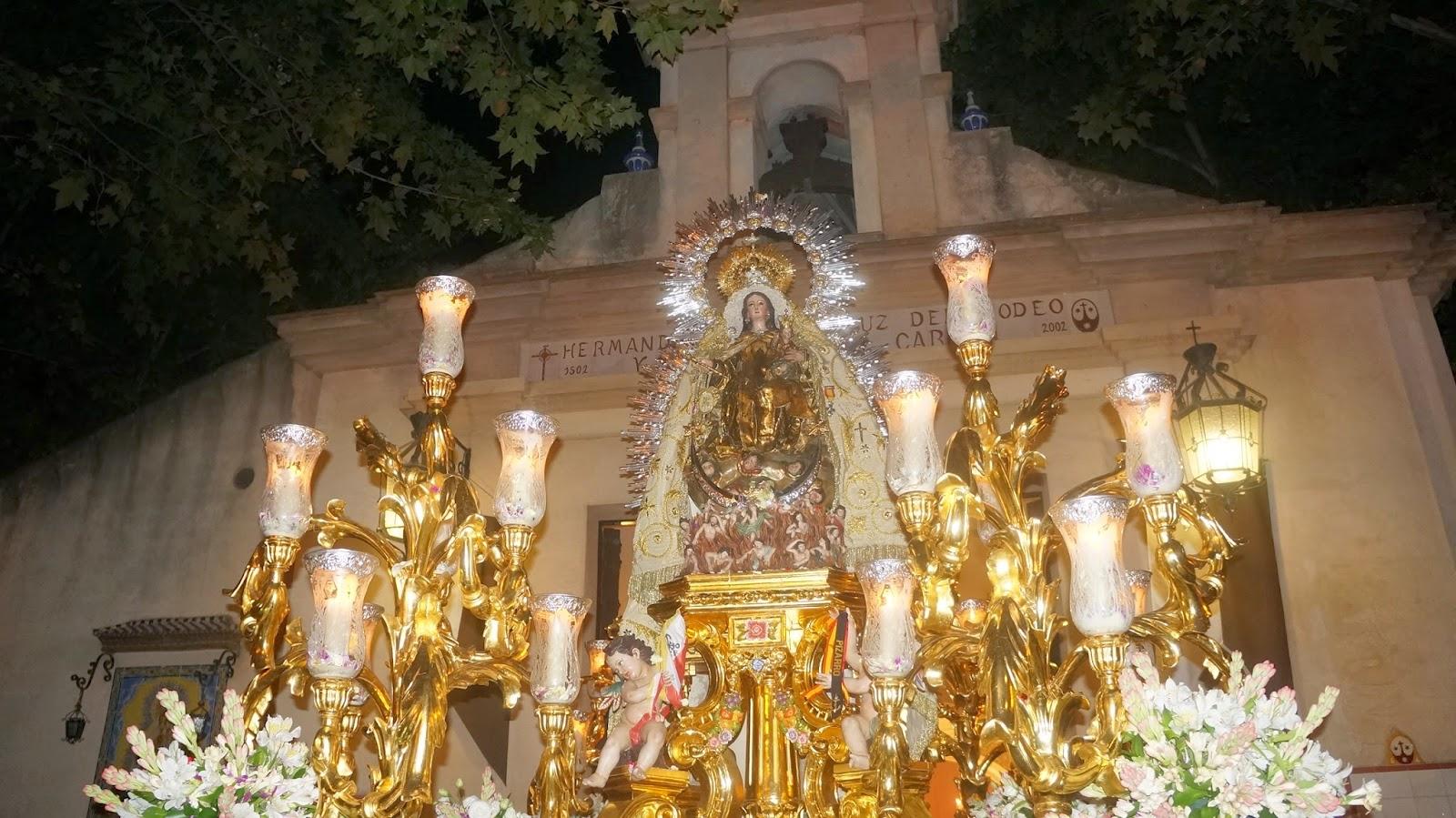Procesion de la Virgen del Carmen de la Iglesia de la Calle Calatrava