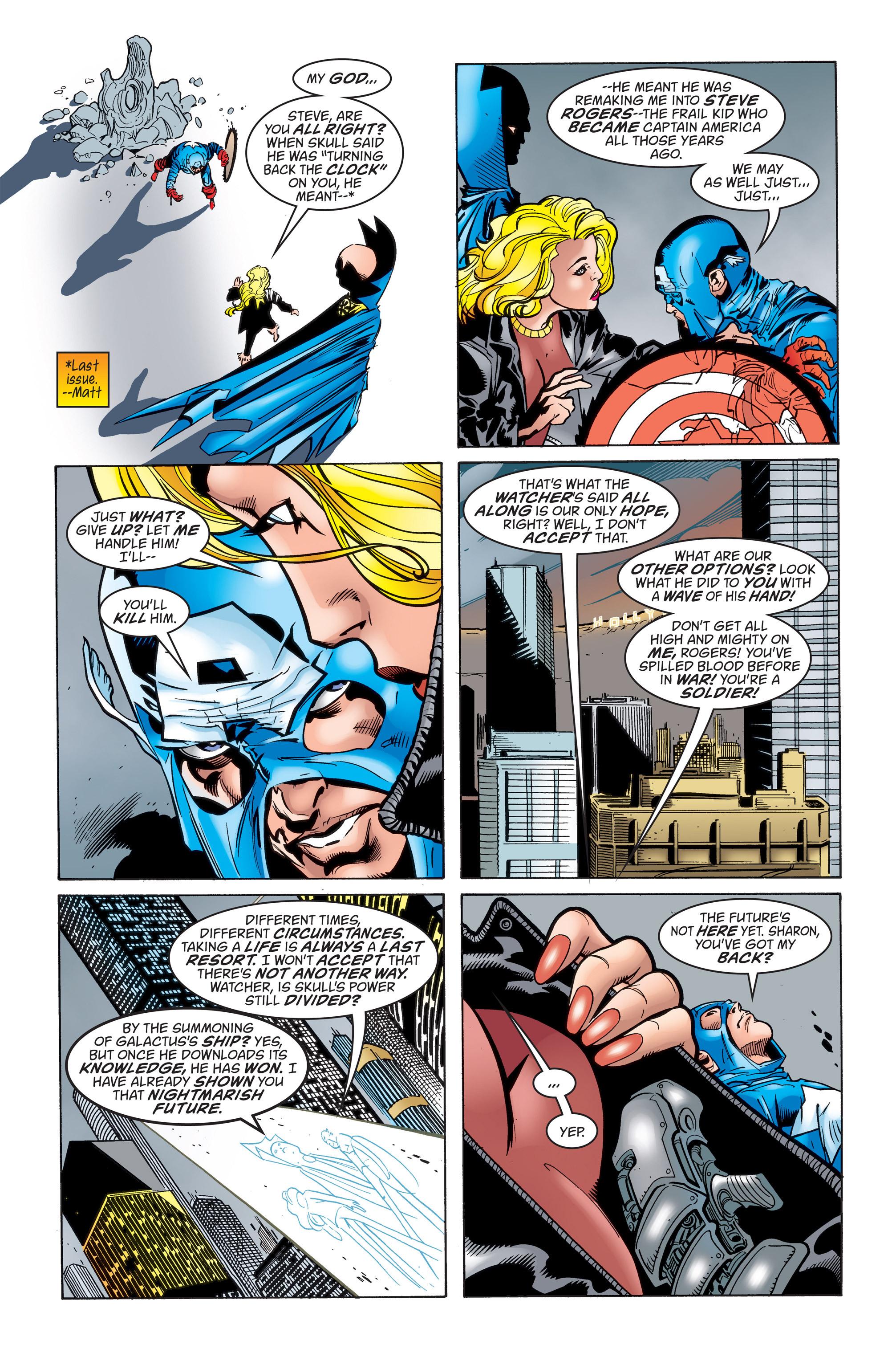 Captain America (1998) Issue #17 #23 - English 4