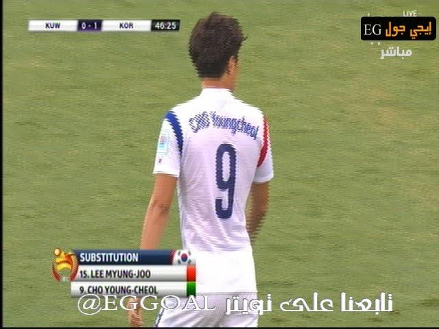 اهداف مباراة الكويت و كوريا الجنوبية 0-1| كأس امم اسيا || 13-1-2015