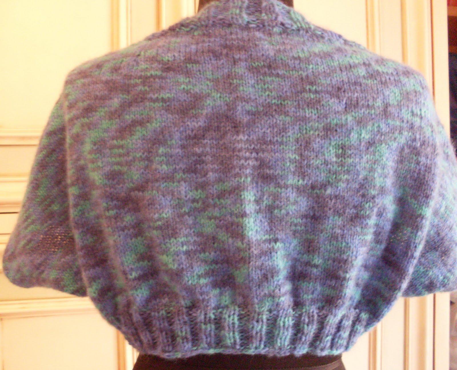 Schema a maglia coprispalle