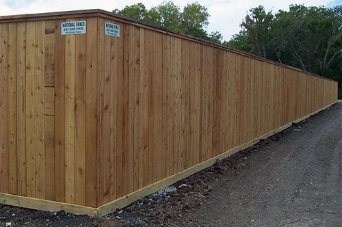 8 Foot High Privacy Fence