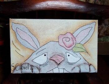 Made from the Doodle - Peek a Boo Bunny