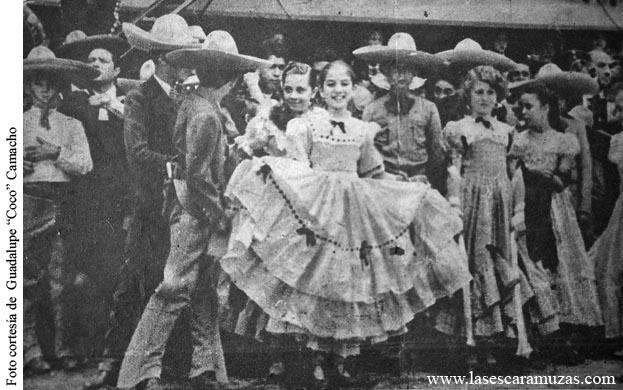El Arte de la Escaramuza. Fotografías históricas de la primera escaramuza. Audiovisual.