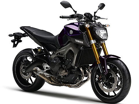 2014 Yamaha MT-09 Gambar Motor - 480x360 pixels