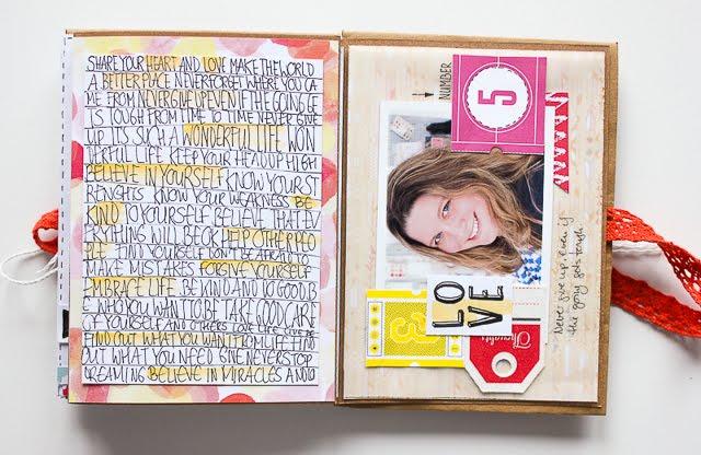 Mini Album aus Briefumschlägen | Janna Werner | jannawerner.blogspot.de