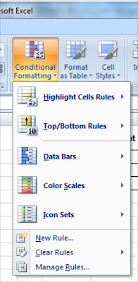 Conditional Formatting dalam Microsoft Excel