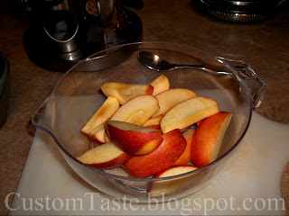 Slow Cooker Apple Pie Filling by Custom Taste