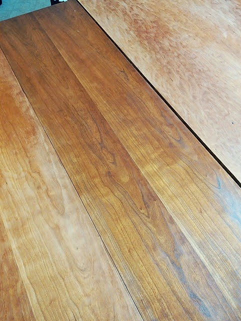 staining a table. Refinishing a Dining Table   DIY beautify