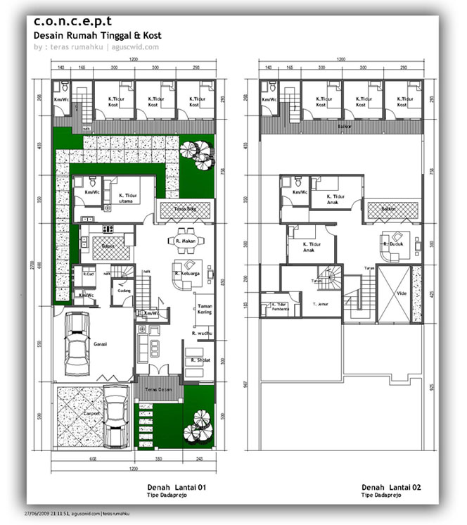 Aneka ide Contoh Desain Rumah Minimalis 1 Lantai 2015 yang menawan