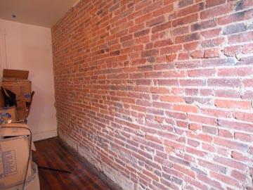 brick box image interior brick veneer