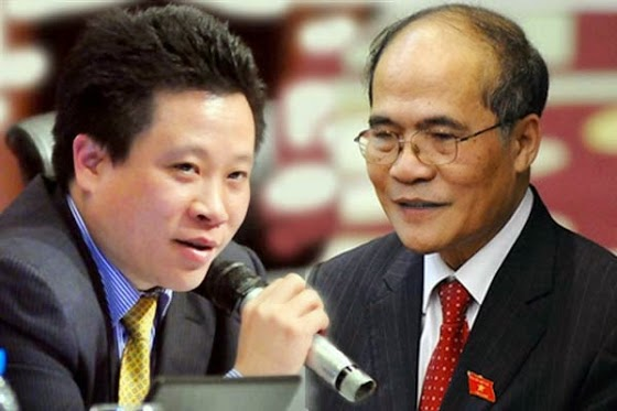 Hà Văn Thắm: Anh và người nhà Chủ tịch Quốc hội Nguyễn Sinh Hùng dùng Vietnamnet đánh Ngân hàng Bảo Việt