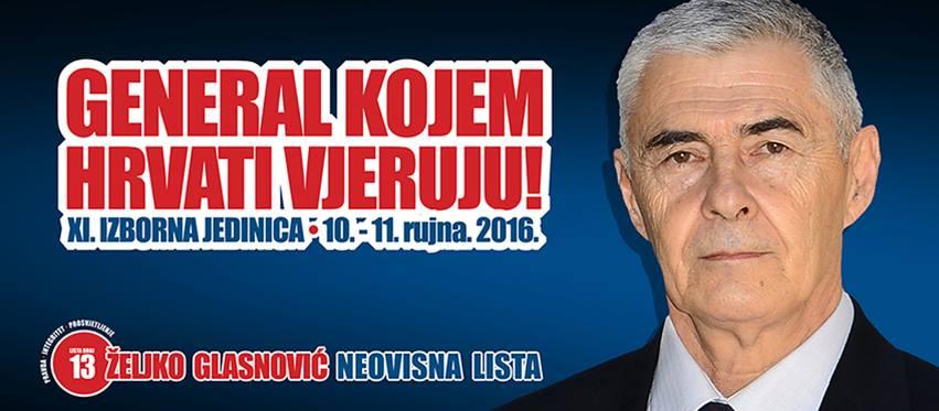 IZBORI RH - Željko Glasnović, neovisna lista XI izborna jedinica