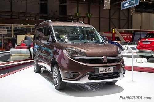 Fiat Doblo Van with Traction+