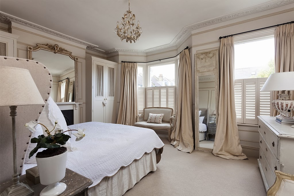 Modern country style swedish french style victorian house for Victorian bedrooms images