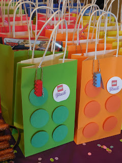 Lego Party Favors, Birthday Party, Lego party,