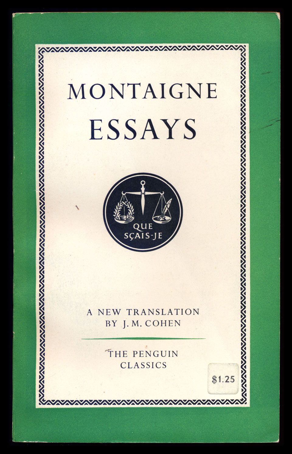 """essays montaigne online Montaigne's essay """"of cruelty"""" explores a phenomenon we would now call empathy, or the ability to """"feel into"""" or share another's sufferings or pleasures: an experience montaigne tells us he frequently has himself, even with nonhuman animals."""