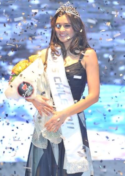 miss chile 2011 winner gabriela pulgar luco
