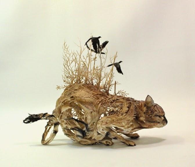 Surreal Sculptures by Ellen Jewett-11