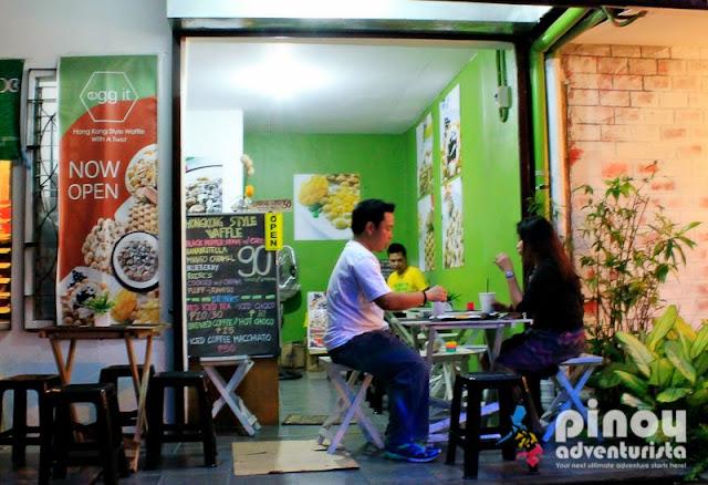 Egg It Waffle Restaurant in Kapitolyo Pasig