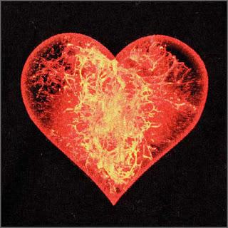 Romantic love picture: heart