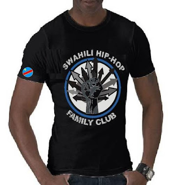 the new congo member swahili T-shirt