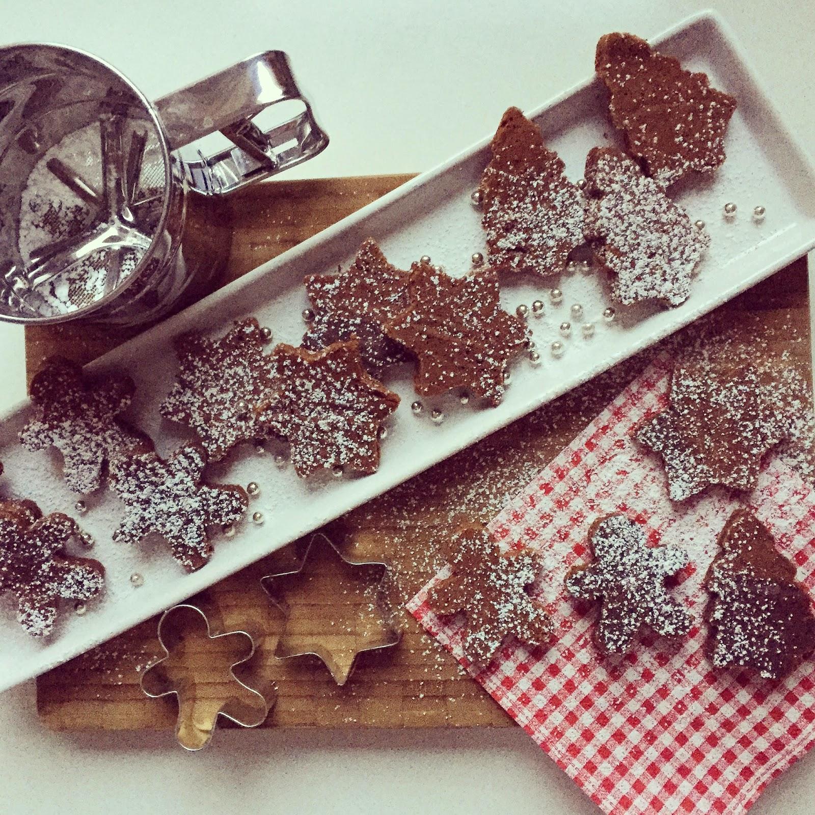 berg k sst k ste advent advent rezept f r winterliche lebkuchen brownies. Black Bedroom Furniture Sets. Home Design Ideas